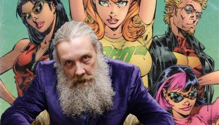 Alan Moore deja el mundo del cómic