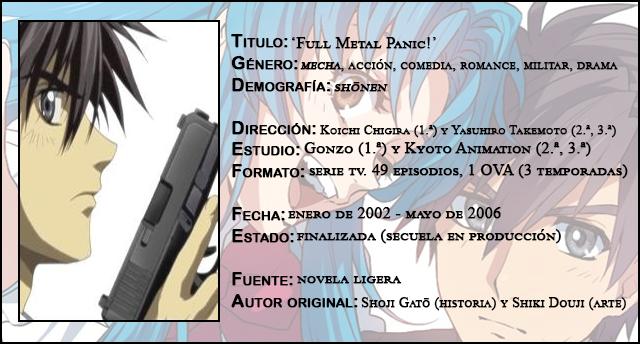 Review Anime Full Metal Panic 2002 2006