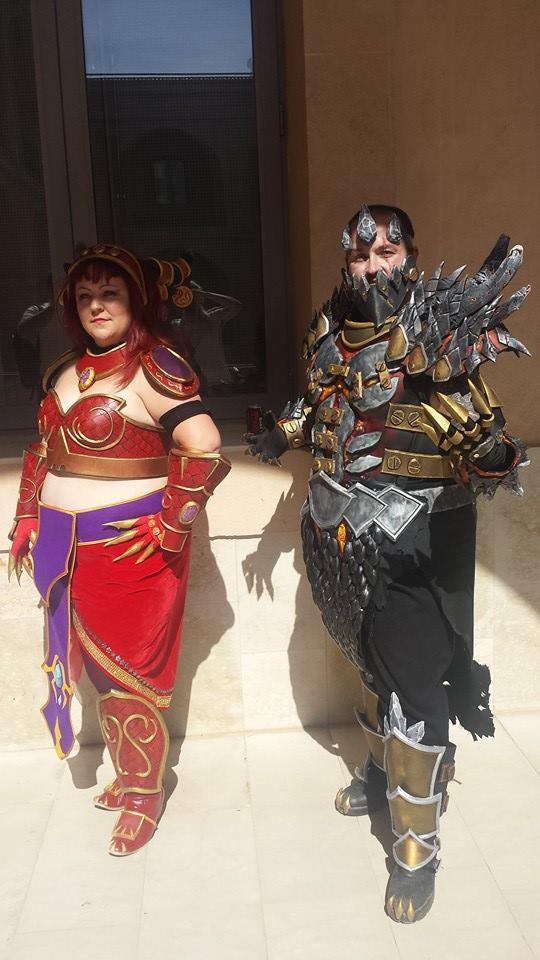 Gotrek y Gusy locuras cosplayiles