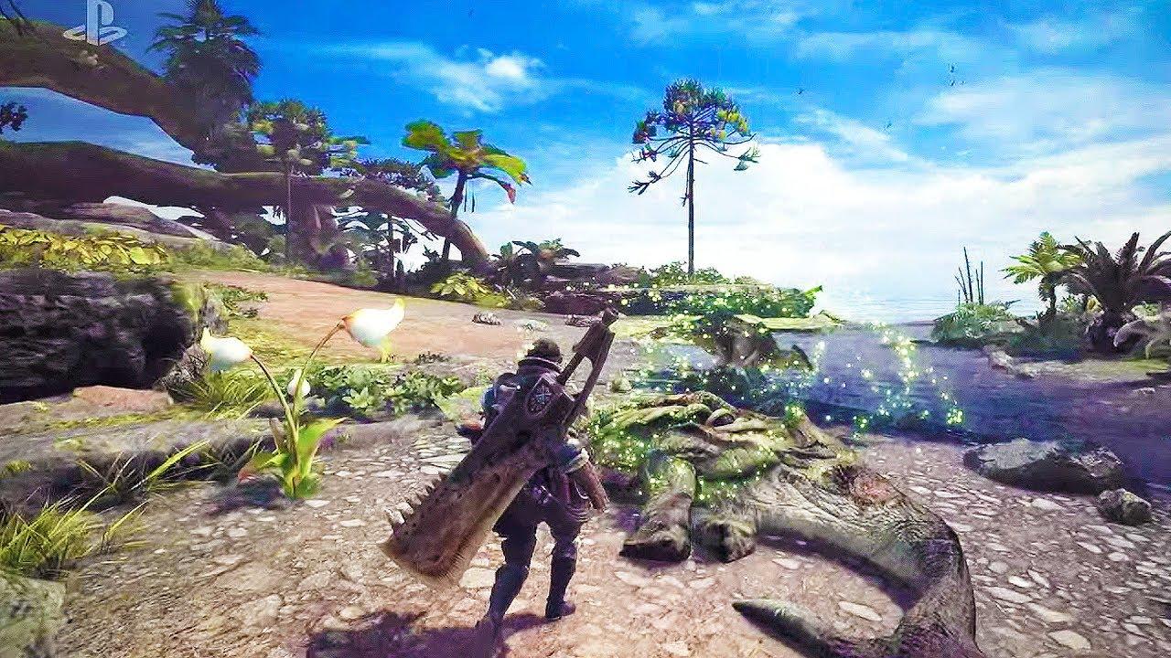 Monster Hunter World se muestra en un nuevo gameplay