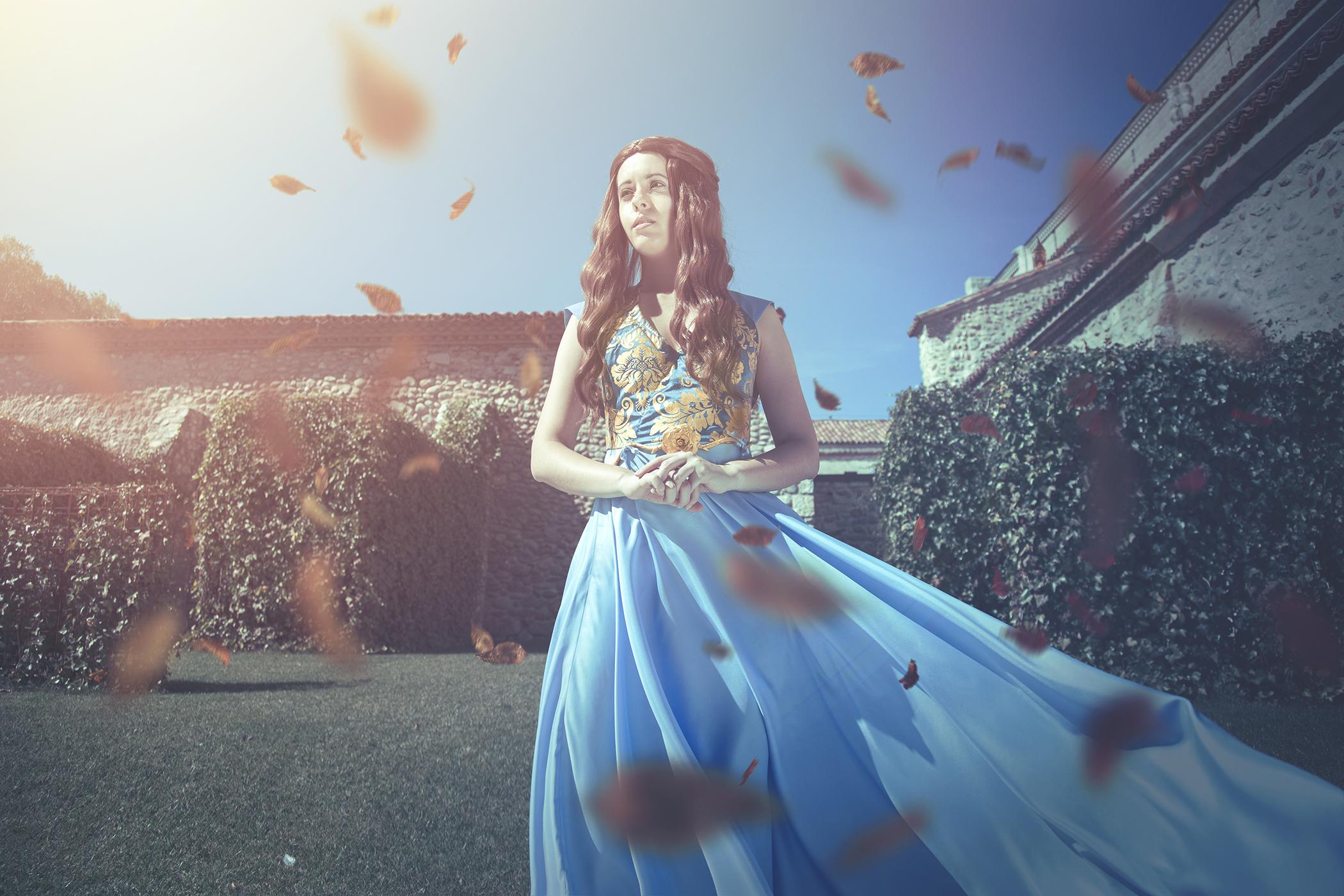Foto realizada y editada por Phoenix Orange: Margaery Tyrell ('Juego de Tronos'), de Peanutskye Cosplay and Costumes