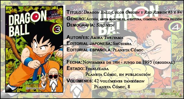 'Dragon Ball Color Origen y Red Ribbon' #3 y #4