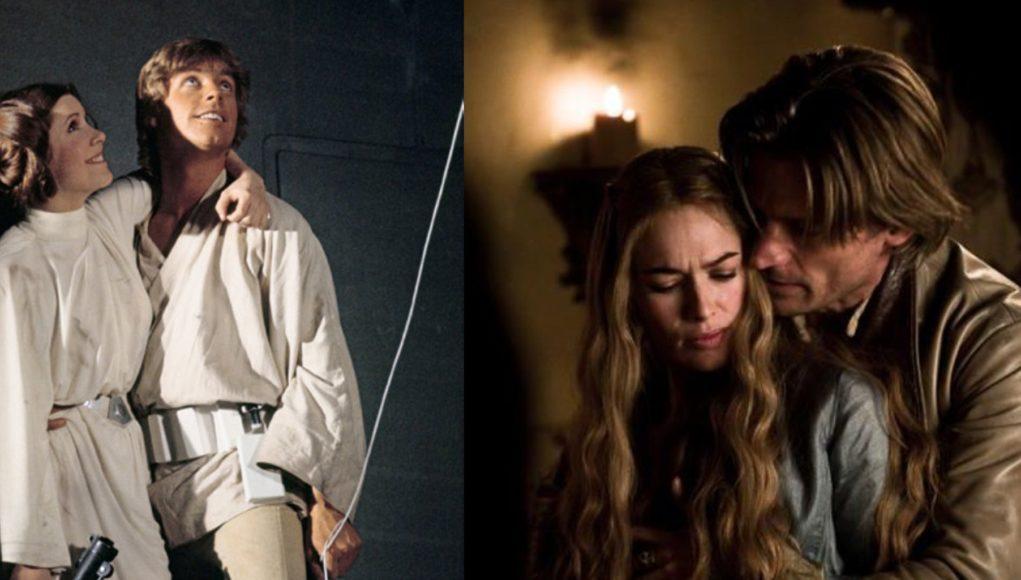 Jaime Lannister y Luke Skywalker