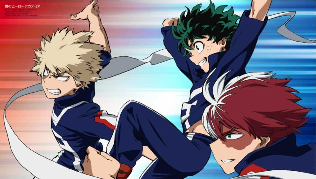 Boku no Hero Academia datos anime