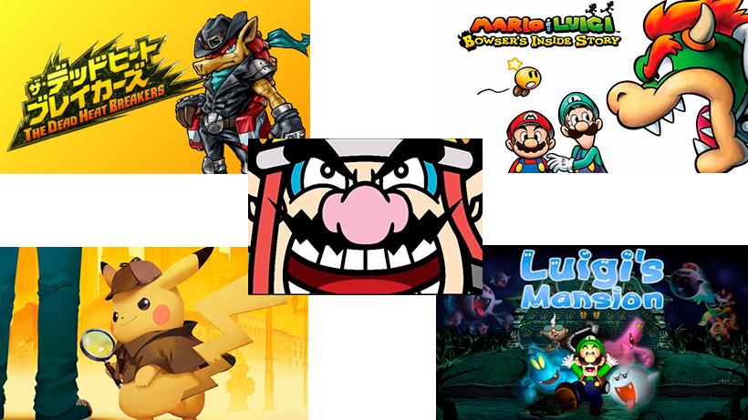 Novedades de 2018 para 3DS
