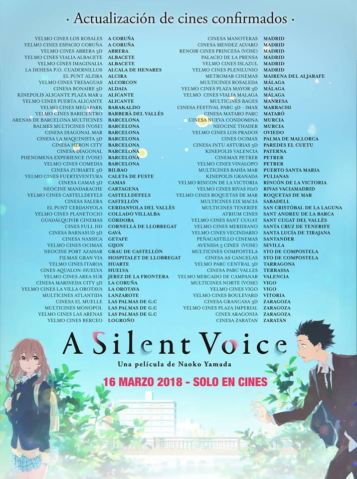 A Silent Voice cines