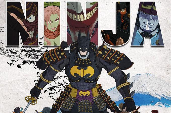 Películas anime primavera 2018 - Batman Ninja