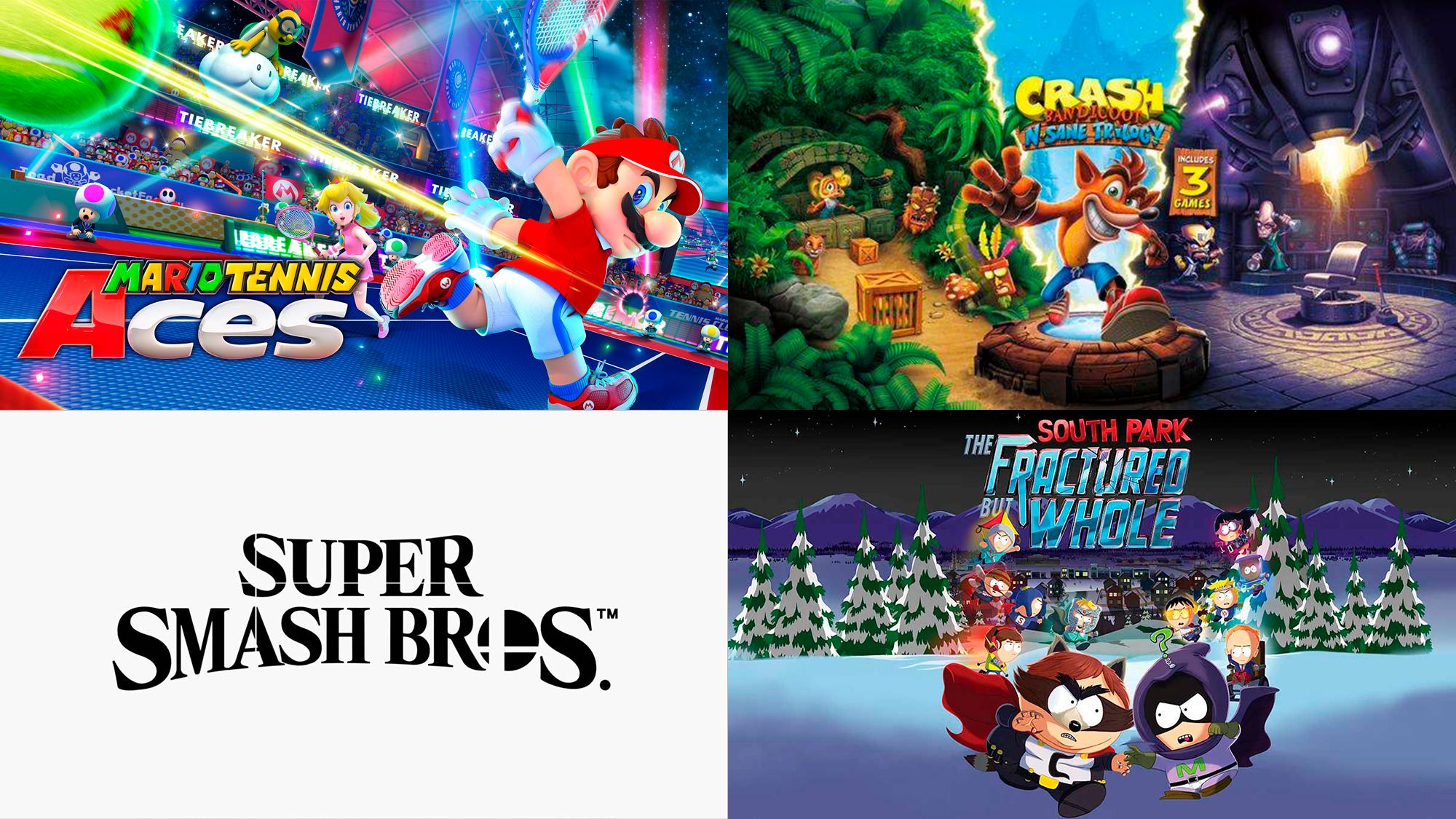 Novedades de 2018 para Switch