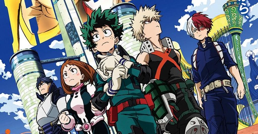 Review anime Boku no Hero Academia
