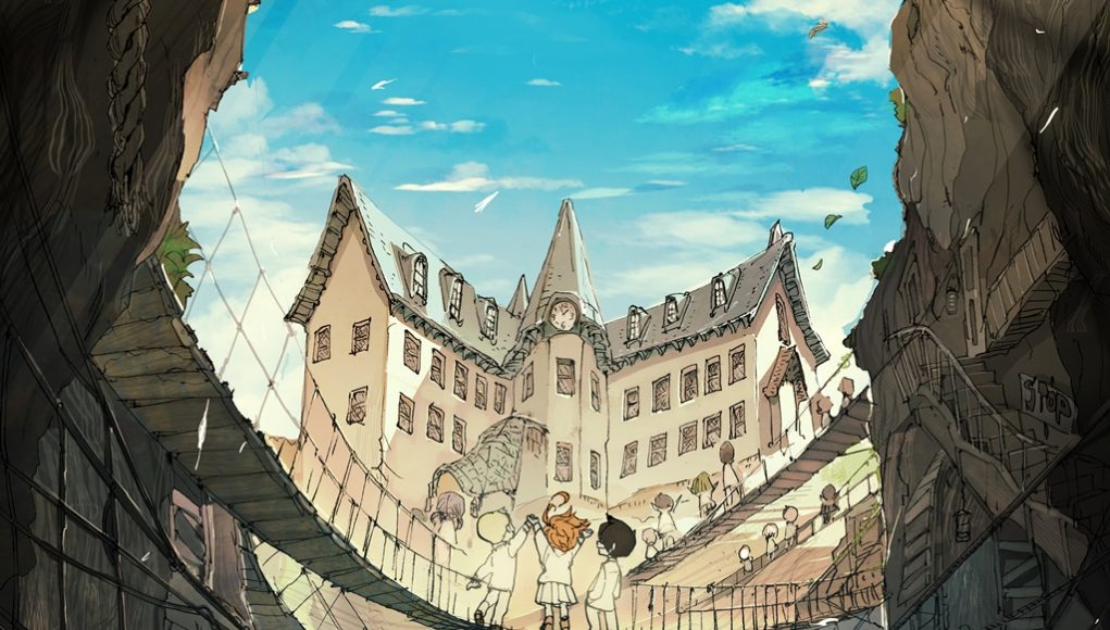 The Promised Neverland anime destacada