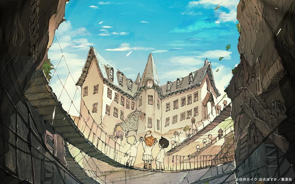The Promised Neverland anime destacada