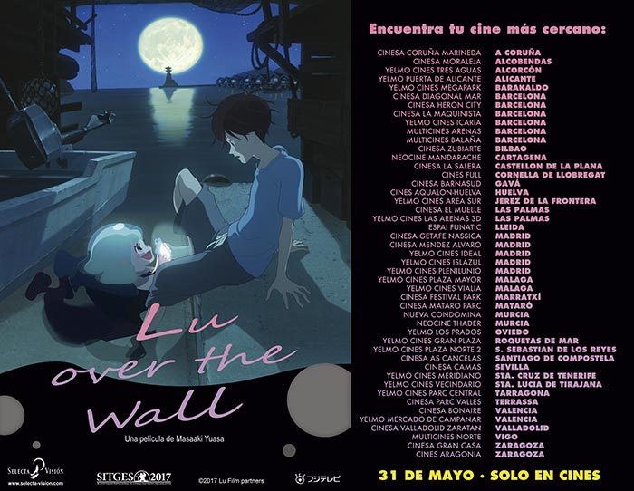 Lu Over the Wall cines confirmados