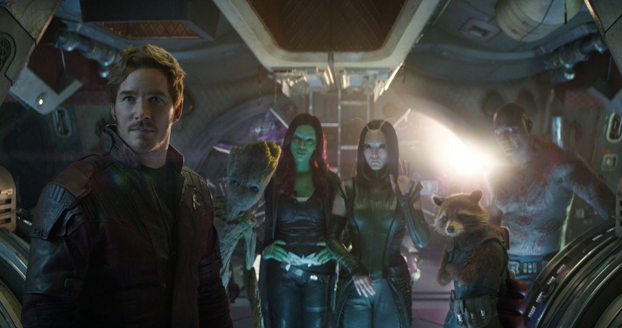 Fotograma de los Guardianes de la Galaxia // South China Morning Post