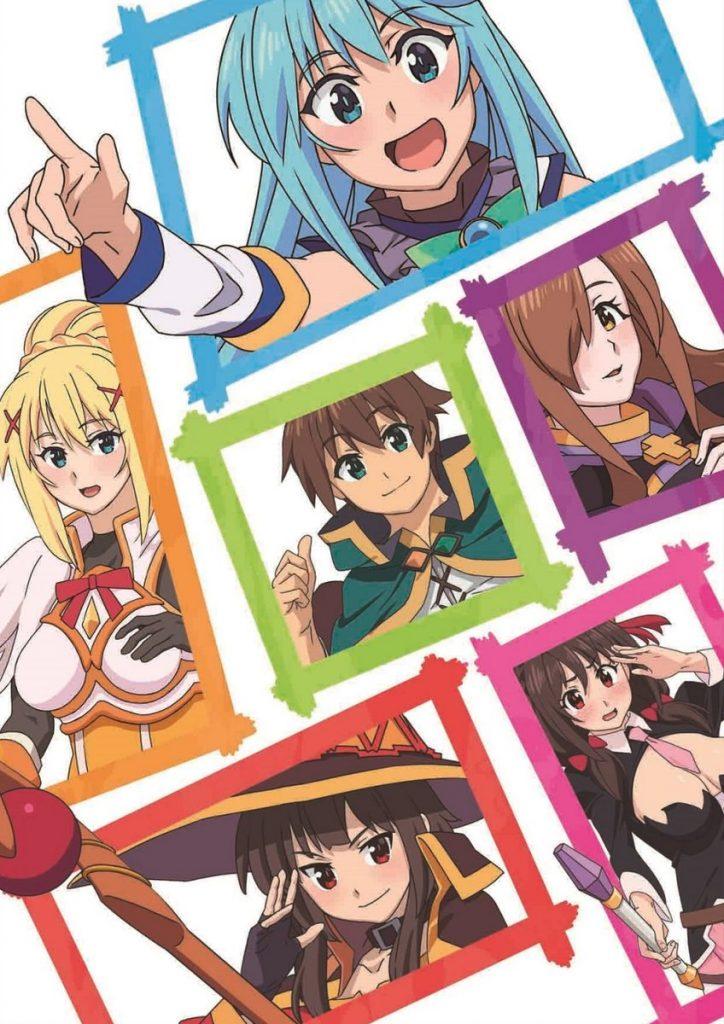 Konosuba imagen promocional película