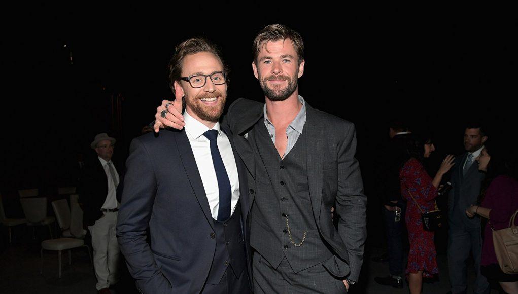 Tom Hiddleston Loki Chris Hemsworth