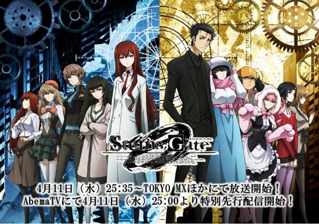 Steins Gate 0 anime datos