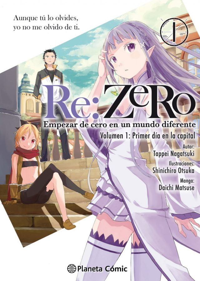 Re:zero manga destacada