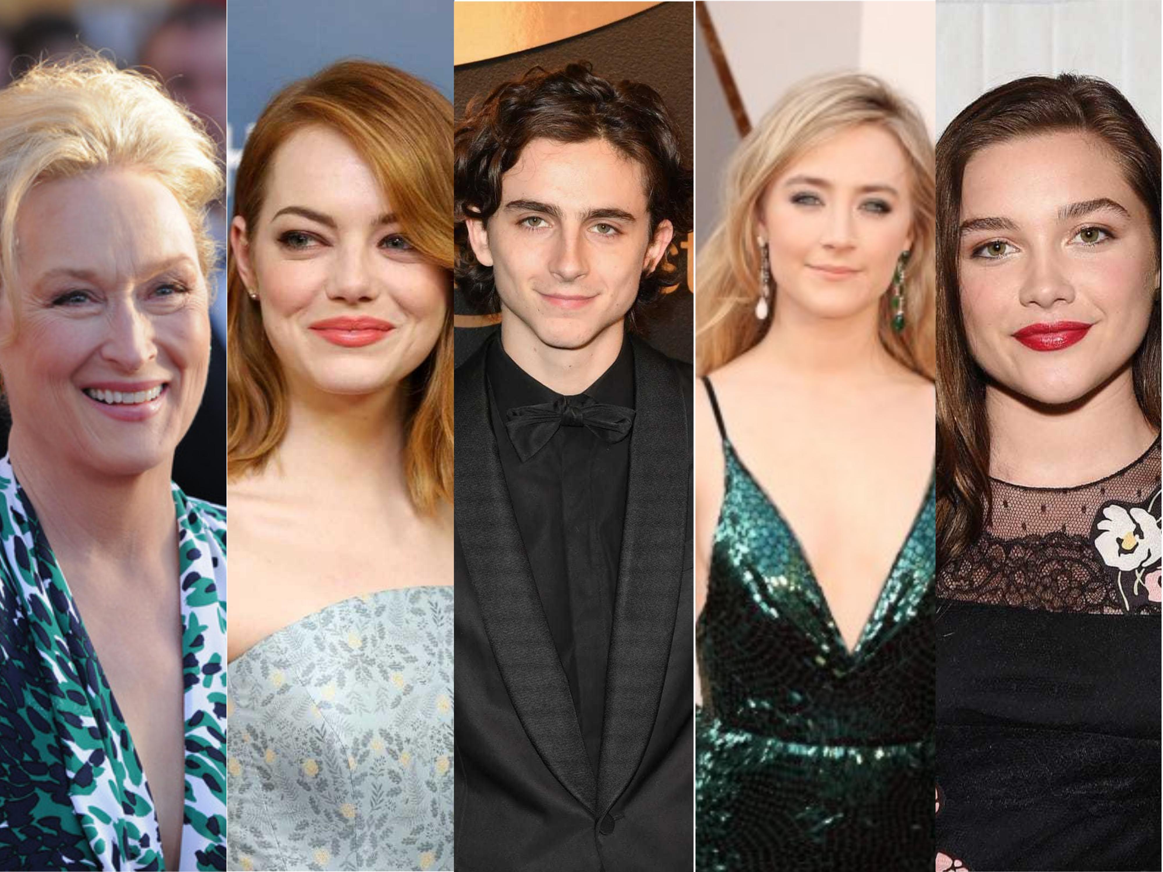 Meryl Streep, Emma Stone, Saoirse Ronan, Timothée Chalamet y Florence Pugh estrán en la nueva película de Mujercitas
