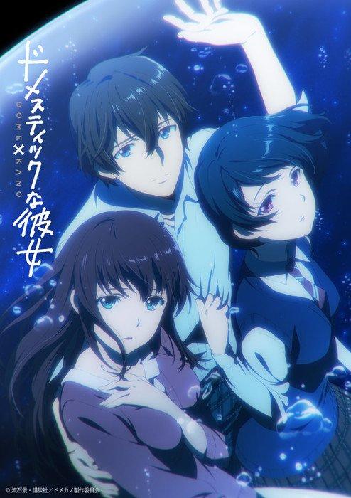 Domestic na Kanojo imagen adaptacion anime