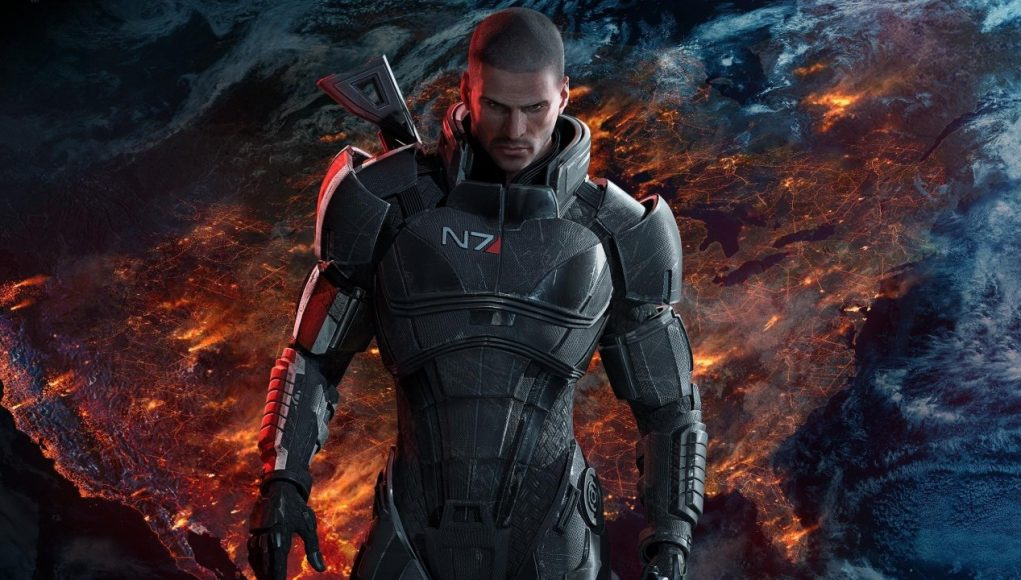 Imagen promocional de Mass Effect