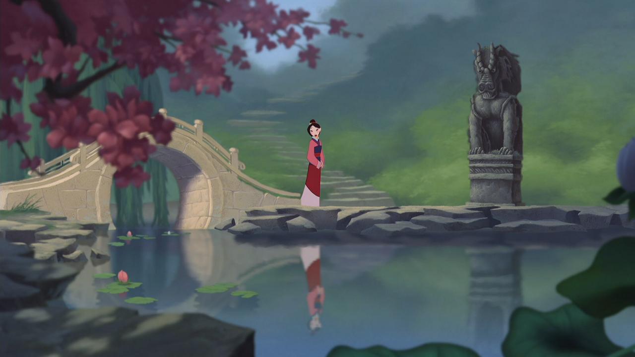 Mulan en la película de animación // Disney