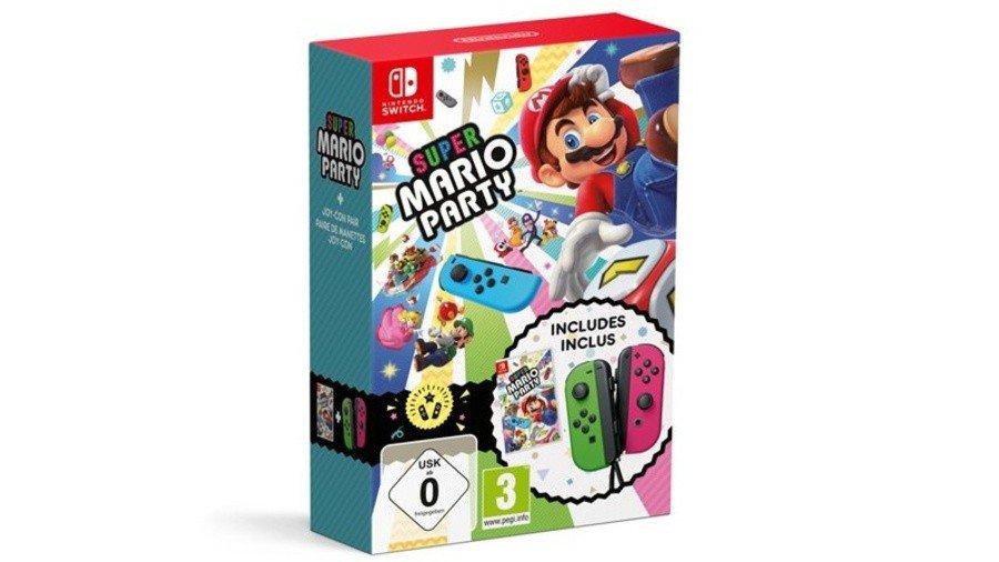 Portada del juego Super Mario Party
