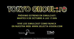 Selecta Visión Tokyo Ghoul:re imagen destacada