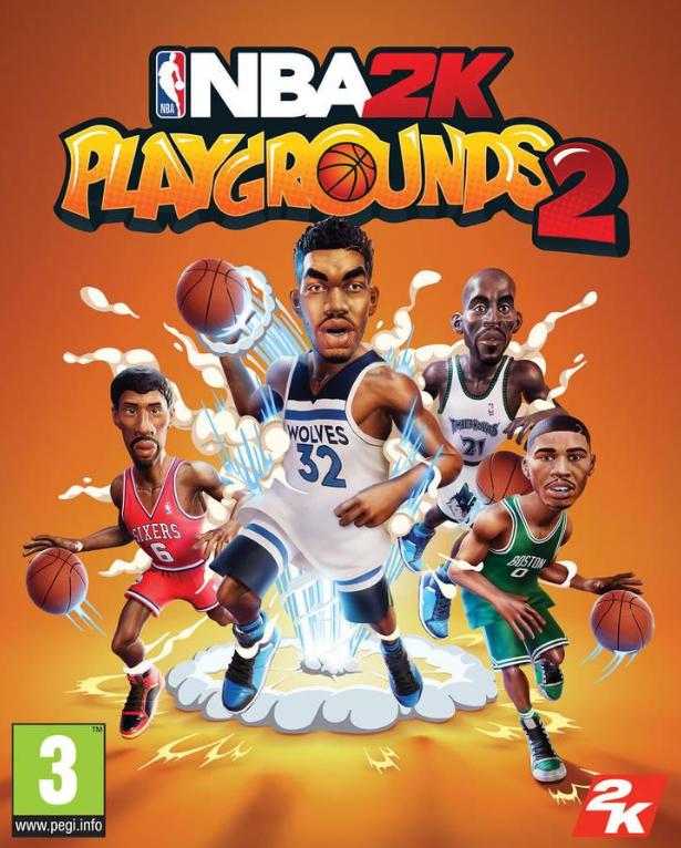 Portada de NBA 2K Playgrounds 2