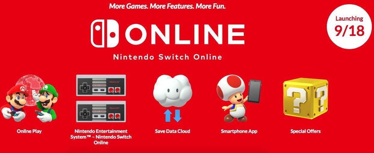 Servicios Nintendo Switch Online
