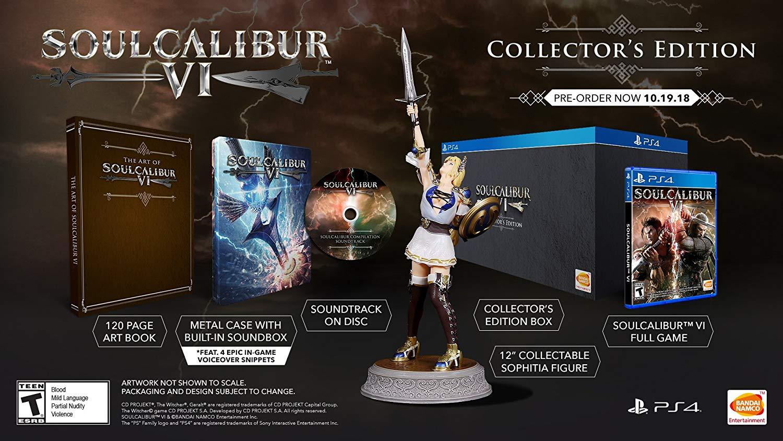 Edición coleccionista Soulcalibur VI