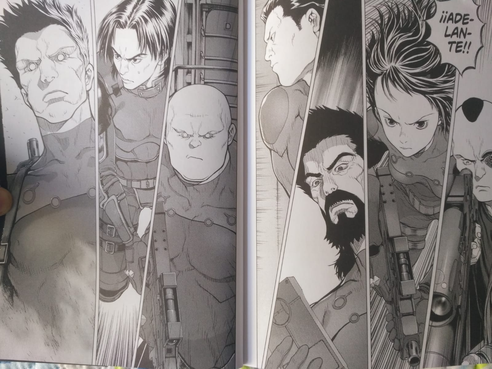 Ghost in the Shell: Arise #7 personajes