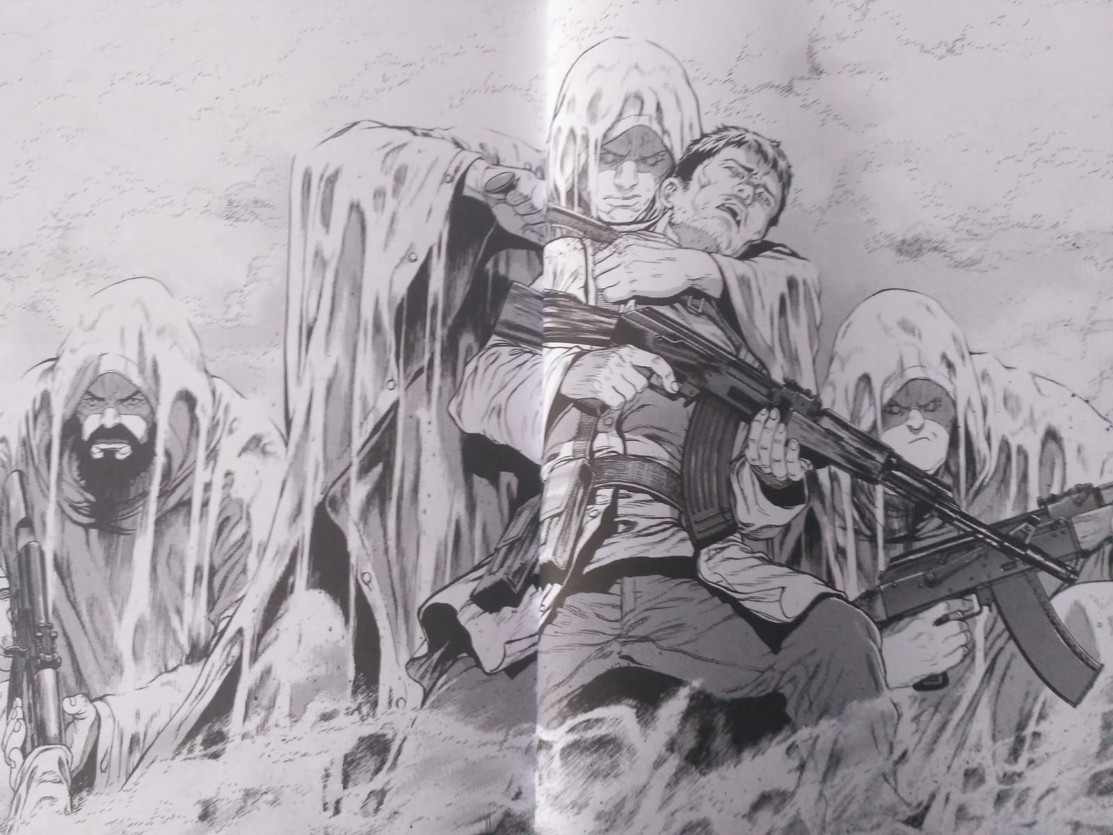 Ghost in the Shell: Arise #7 argumento personajes
