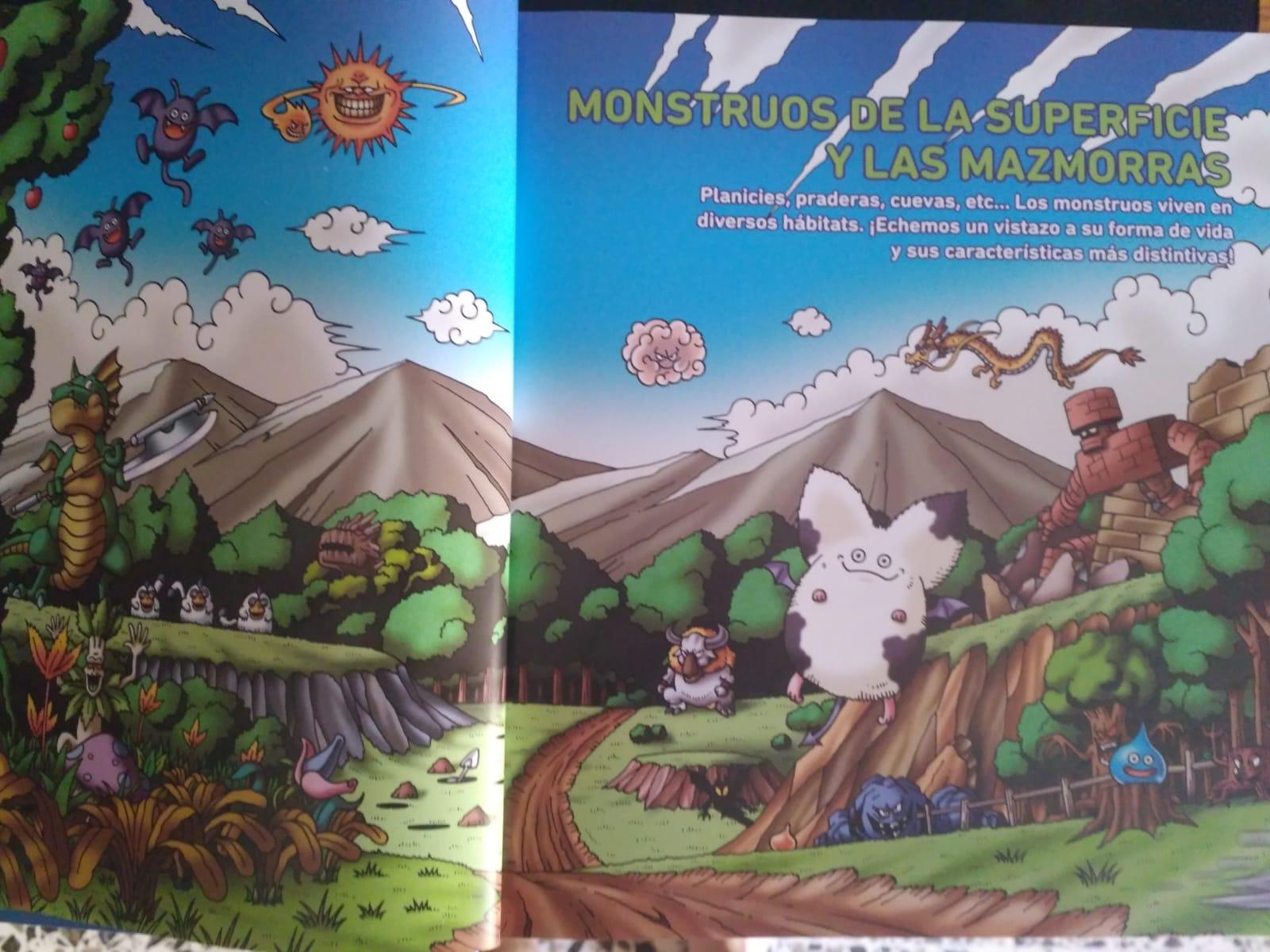 Dragon Quest Enciclopedia de Monstruos (Monstruos de la superficie y de las mazmorras)