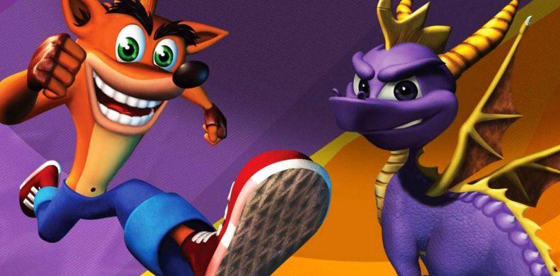 Crash y Spyro juntos