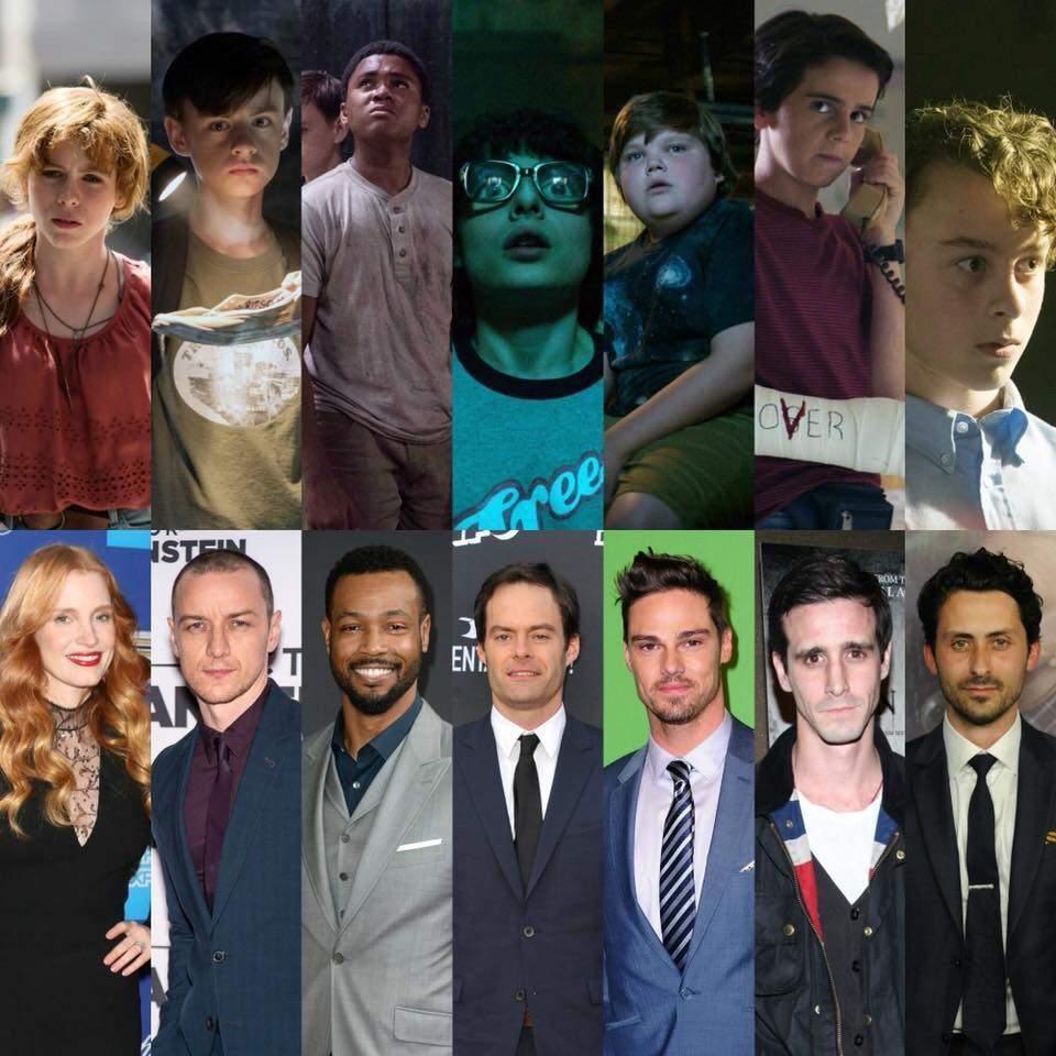 Este es el reparto completo de actores que aparecerán en segundo capítulo de It // Amino Apps