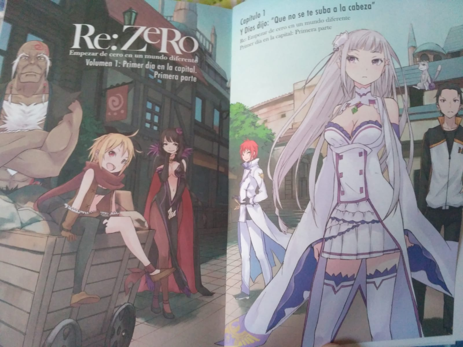 Reseña 'Re:Zero Chapter 1' #1