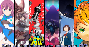 Guía anime invierno 2019