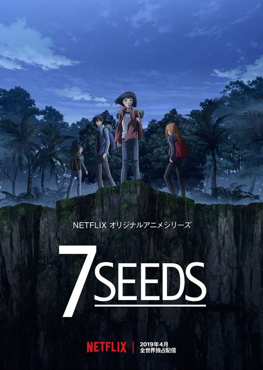 7SEEDS portada anime