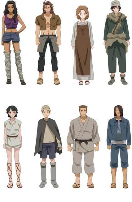 7seeds personajes anime