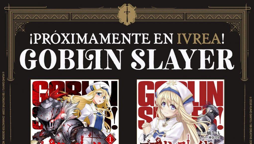 Ivrea licencia Goblin Slayer imagen destacada