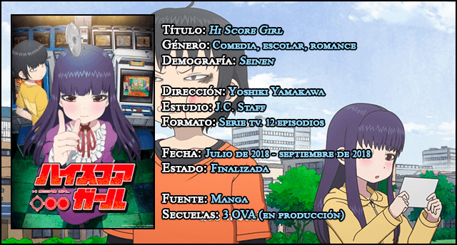 Análisis anime: 'Hi Score Girl'; Netflix, anime y videojuegos