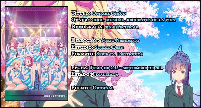 Reseña anime: 'Ongaku Shōjo' ('Music Girls')