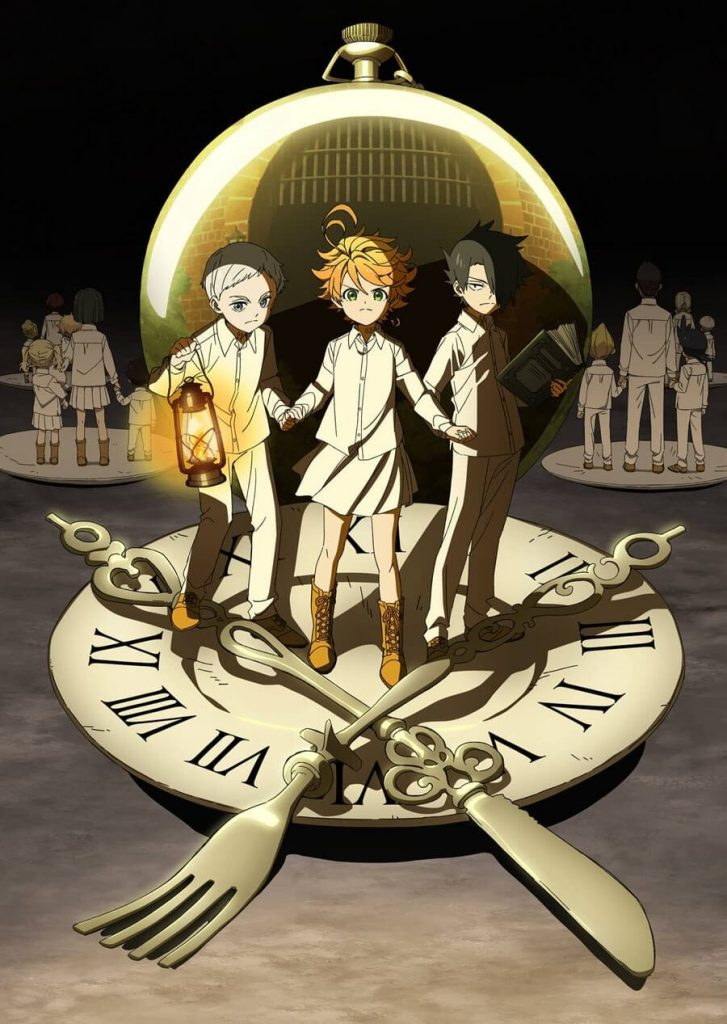 The Promised Neverland imagen portada