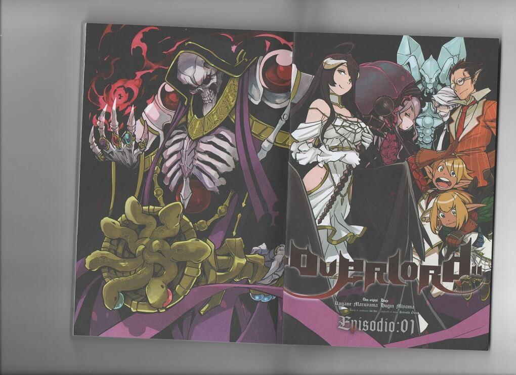 Análisis de Overlord #1 - Cuando el género isekai deja de seguir a héroes y se enfoca en monstruos...