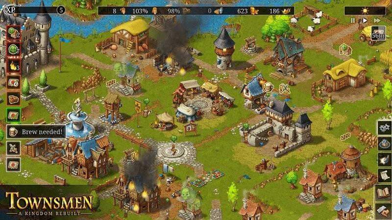 Análisis de 'Townsmen – A Kingdom Rebuilt', de HandyGames y THQ Nordic (1)