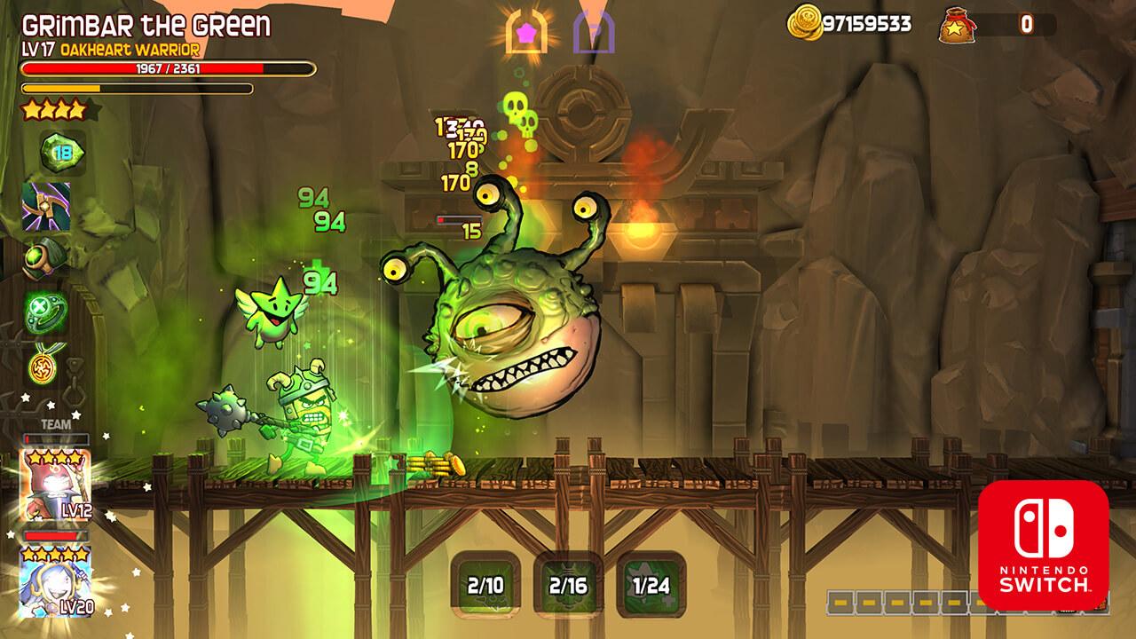 Análisis de 'Dungeon Stars', de Furnace Games (4)