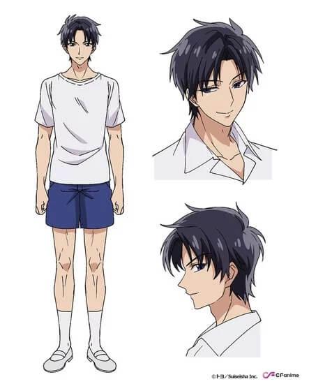 Hidemoto Takasugi personaje