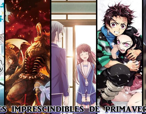 5 animes primavera 2019