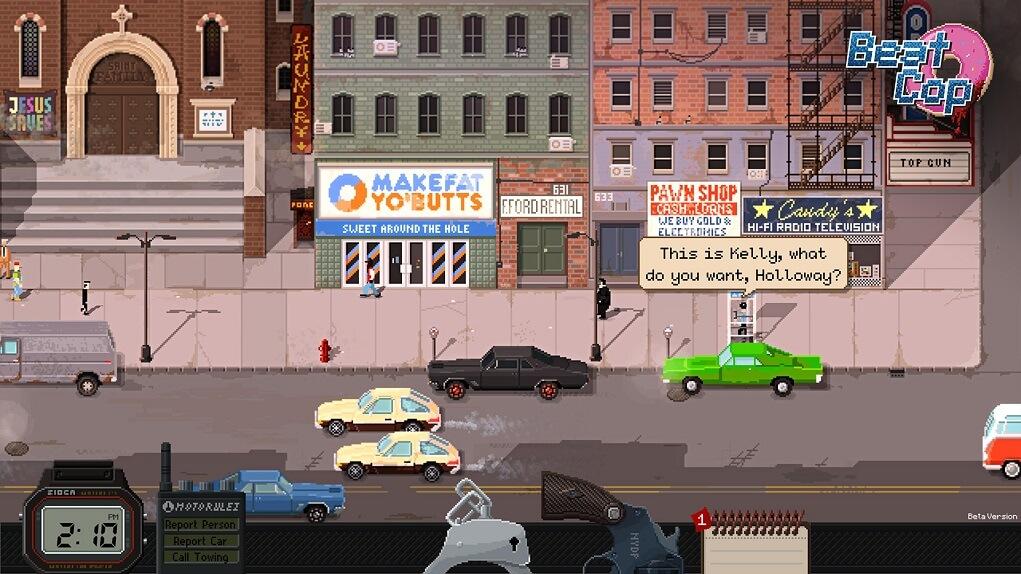 Análisis de 'Beat Cop', de Pixel Crow (6)