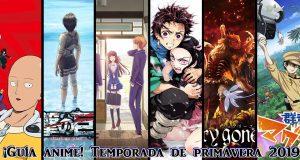 Guia anime Primavera 2019